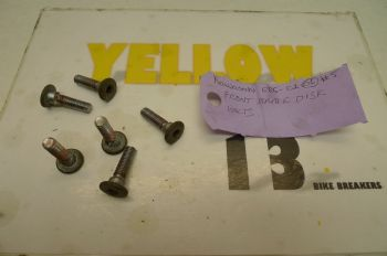KAWASAKI ER5 C-1 BREAKING.  FRONT BRAKE DISC BOLTS  #5(CON-D)